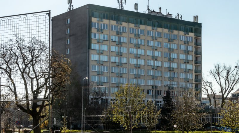 Izolatorium Hotel Ikar coronawirus covid epidemia fot. Sławek Wąchała