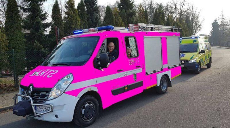 wóz strażacki fot. OSP Luboń