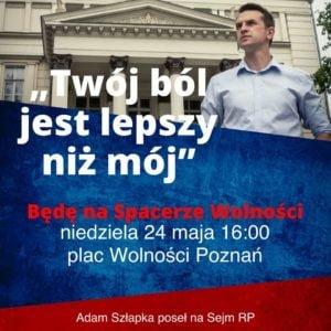 adam szlapka 300x300 - Poznań: Poseł Adam Szłapka znów zaprasza na spacer. Z Kazikiem