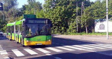 autobus linii nr 168 fot. ZTM