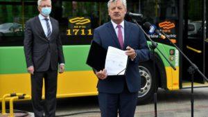 autobusy elektryczne 1 fot. ump 300x169 - Poznań: Będziemy mieli 37 elektrycznych autobusów