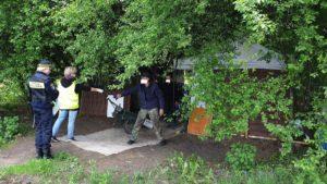 bezdomni 3 fot. smmp 300x169 - Poznań: Strażnicy miejscy odwiedzili bezdomnych. Z powodu koronawirusa