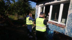 bezdomni 6 fot. smmp 300x169 - Poznań: Strażnicy miejscy odwiedzili bezdomnych. Z powodu koronawirusa