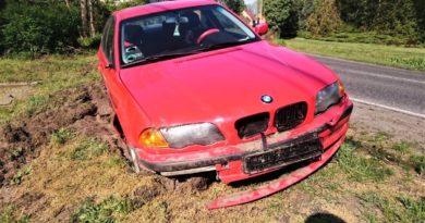 BMW fot. policja Szamotuły
