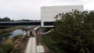budowa wartostrady 2  300x169 - Poznań: Budowa Wartostrady przez amfiteatr trwa w najlepsze