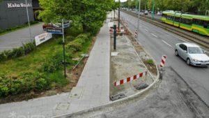 droga rowerowa grunwaldzka 2 fot. pim 300x169 - Poznań: Droga rowerowa wzdłuż ul. Grunwaldzkiej - zmiana organizacji ruchu od 1 czerwca