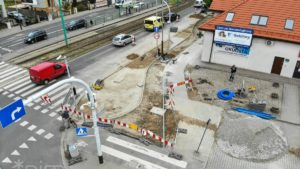 droga rowerowa grunwaldzka 3 fot. pim 300x169 - Poznań: Droga rowerowa wzdłuż ul. Grunwaldzkiej - zmiana organizacji ruchu od 1 czerwca