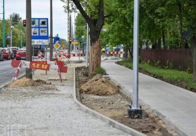 Poznań: Droga rowerowa wzdłuż ul. Grunwaldzkiej – zmiana organizacji ruchu od 1 czerwca