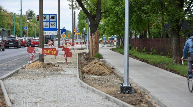 droga rowerowa Grunwaldzka 4 fot. PIM