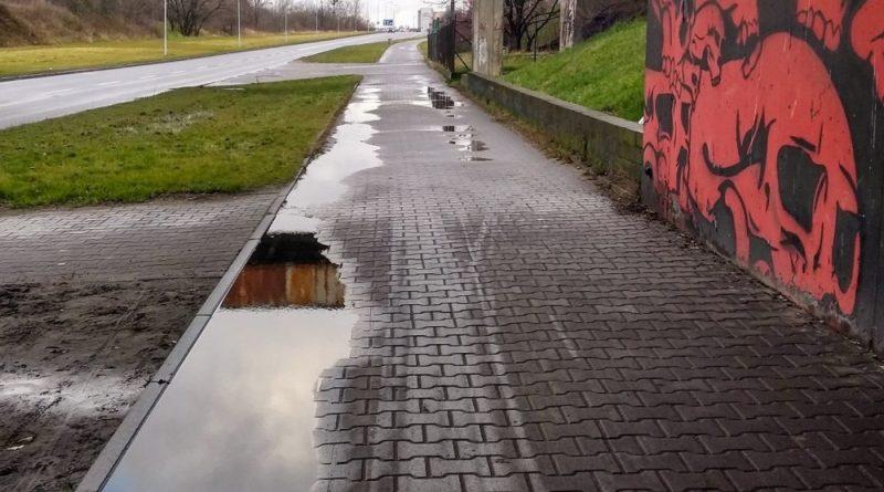 droga rowerowa Mieszka I fot. ZDM