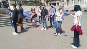 dzien europy 2 300x169 - Poznań: Europejski spacer z posłem Adamem Szłapką