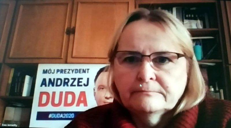 Ewa Jemielity prt scr Wojciech Chudy