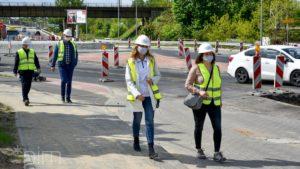 Poznań: Ulica Gdyńska - przebudowa coraz bardziej zaawansowana