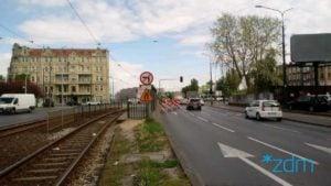 hetmanska fot. zdm 300x169 - Poznań: Kolejne sygnalizacje świetlne uszkodzone - bo kierowca jechał za szybko...