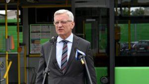 jacek jaskowiak 2 fot. ump 300x169 - Poznań: Będziemy mieli 37 elektrycznych autobusów