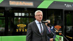 jacek jaskowiak fot. ump 1 300x169 - Poznań: Będziemy mieli 37 elektrycznych autobusów