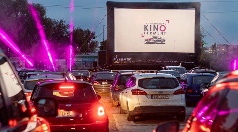 Kino samochodowe WGO fot. Sławek Wąchała