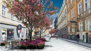 kwiatowa po przebudowie 2 fot. pim 300x169 - Poznań: Przebudowa Kwiatowej jeszcze w tym roku. Będzie nowy deptak!