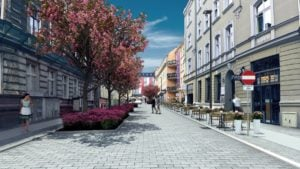 kwiatowa po przebudowie fot. pim 300x169 - Poznań: Przebudowa Kwiatowej jeszcze w tym roku. Będzie nowy deptak!