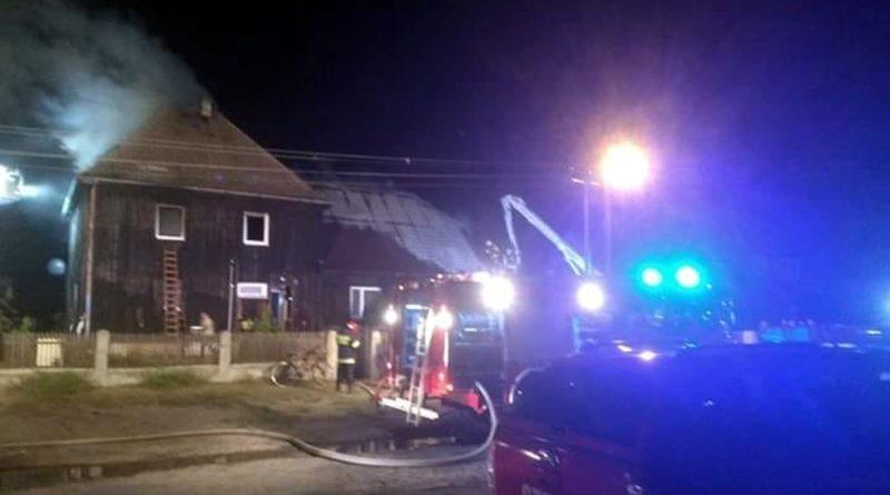 pożar fot. OSP KSRG Biała