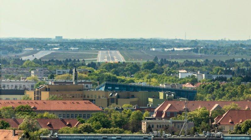 Lotnisko Ławica pas startowy Poznań