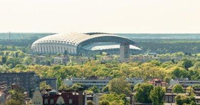 Poznań Stadion Miejski Lech Poznań