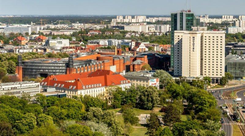 Poznań Stary Browar Novotel Andersia