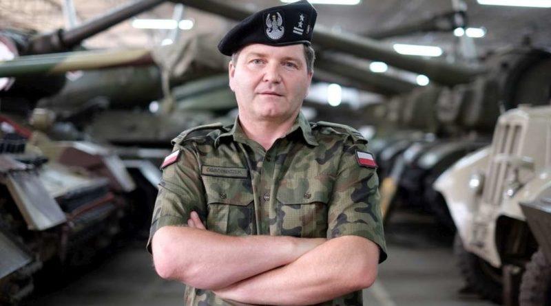 ppłk Tomasz Ogrodniczuk fot. Muzeum Broni Pancernej