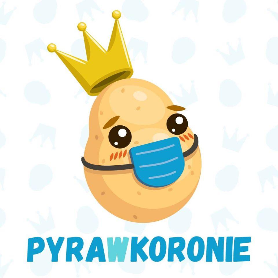 pyra w koronie. fot. pyrawkoronie - Poznań: Pyra w koronie, czyli jak pomóc firmom w czasach koronawirusa