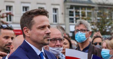Rafał Trzaskowski w szpitalu z powodu koronawirusa