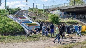 schody kredki 4 fot. gemela poznanska 5 300x169 - Poznań: Schody Kredki wyremontowane!