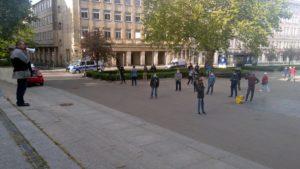 strajk przedsiebiorcow 4 300x169 - Poznań: Strajk Przedsiębiorców ponownie na placu Wolności