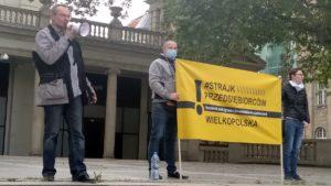strajk przedsiebiorcow 6 300x169 - Poznań: Strajk Przedsiębiorców ponownie na placu Wolności