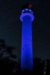 wieza 4 czerwonak fot. joanna urbaniak 200x300 - Poznań: Kolorowa wieża na Dziewiczej Górze. W podzięce służbom medycznym