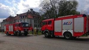 wypadek 3 fot. osp witaszyce 300x169 - Jarocin: Mężczyzna wpadł do zbiornika w Witaszycach