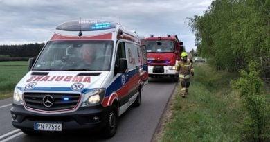 wypadek 4 fot. osp golina 390x205 - Ostrów: Siedem osób rannych i dwie zginęły w wypadku pod Antoninem