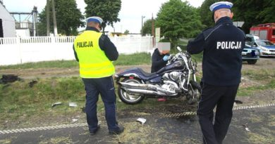 wypadek Gaj Mały fot. policja