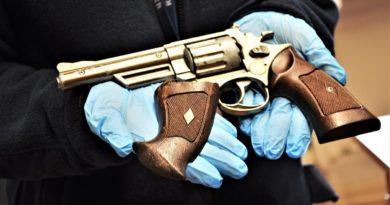 broń atrapa fot. policja