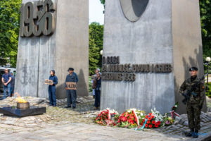 czerwiec 1956 uroczystosci fot. slawek wachala 5165 300x200 - Poznań: 64. rocznica Poznańskiego Czerwca '56. Poznaniacy pamiętają!