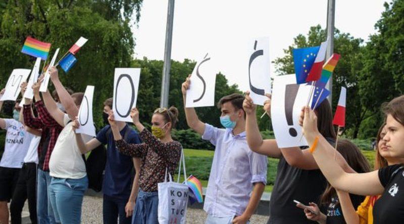 Demonstracja i wiec fot. S. Wąchała