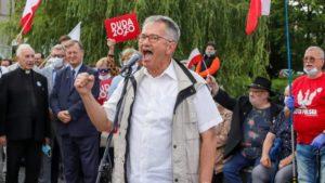demonstracja i wiec fot. s. wachala4 300x169 - Poznań: PiS i Młodzi Nowocześni, czyli dwie demonstracje na jednym placu