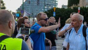 demonstracja i wiec fot. s. wachala6 300x169 - Poznań: PiS i Młodzi Nowocześni, czyli dwie demonstracje na jednym placu