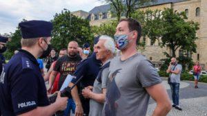 demonstracja i wiec fot. s. wachala9 300x169 - Poznań: PiS i Młodzi Nowocześni, czyli dwie demonstracje na jednym placu