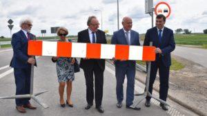droga wojewodzka nr 308 fot. umww 3 300x169 - Kościan: Nowa droga wojewódzka nr 308 już jest!