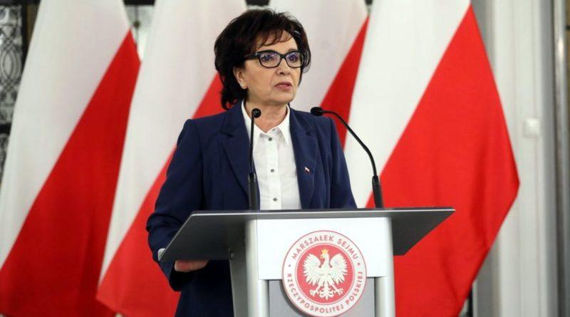 Elżbieta Witek fot. Sejm RP