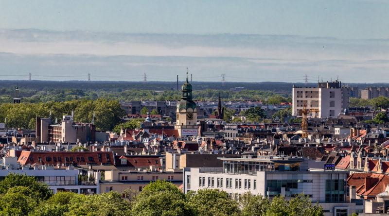 Miasto Poznań z hotelu Altus fot. Sławek Wąchała