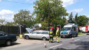 Długa Goślina: Zderzenie dwóch samochodów