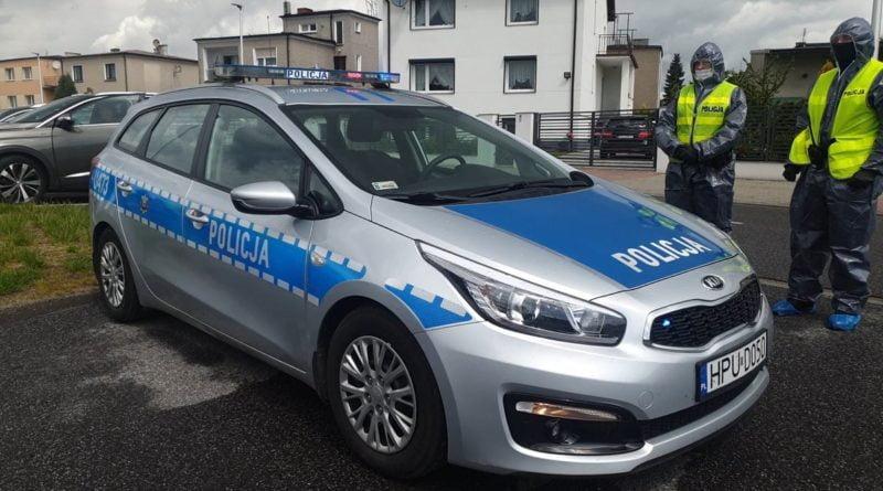 kwarantanna fot. policja