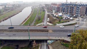 Poznań: Powstanie łącznik przy moście Chrobrego dla rowerzystów i pieszych