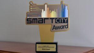 nagroda fot. ump 300x169 - Poznań z nagrodą Smart City